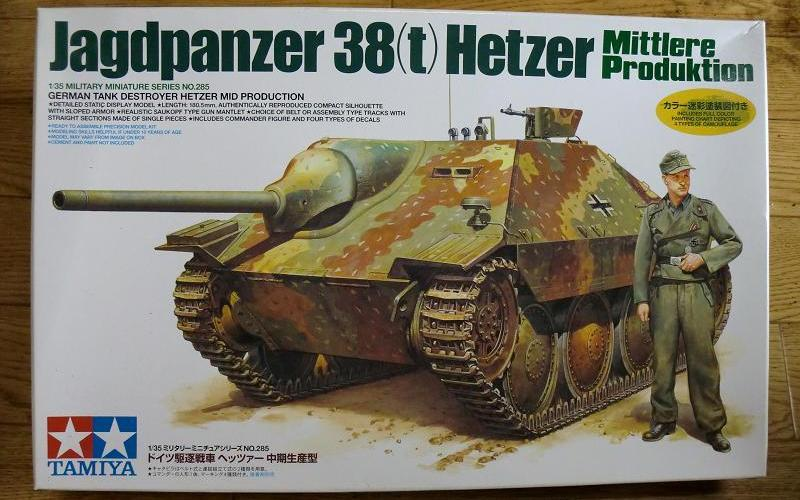 1/35 Jagdpanzer 38(t) (Sd.Kfz. 138/2) Hetzer - Tamiya