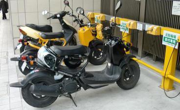 新静岡CENOVA バイクパーキング(自動二輪車駐車場)