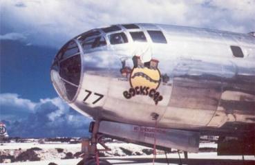 B-29 ボックスカー(Bockscar) 第509混成部隊 (機体番号44-27297)長崎原爆 ファットマン(Fat Man)搭載機