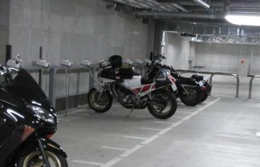 MARK IS みなとみらいバイクパーキング(駐車場) マークイズみなとみらい