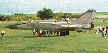 МиГ-25П Виктор Беленко mig-25 foxbat