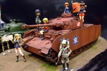 1/35 ガルパン隊長セット POLY-TOYS ガールズパンツァー  girls  panzer フィギュア  ワンダーフェスティバル2013年