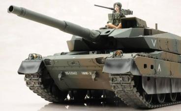 1/35 蝶野亜美一等陸尉  陸上自衛隊 10式戦車 月刊モデルグラフィックス