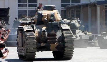 Char B1bis MUSEE DES BLINDES - SAUMUR the Saumur Tank Museum ソミュール戦車博物館