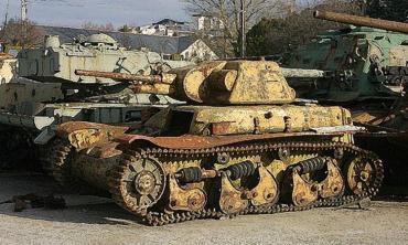 Renault R35 MUSEE DES BLINDES - SAUMUR the Saumur Tank Museum ソミュール戦車博物館