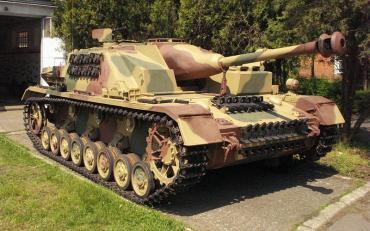 Sturmgeschutz Ⅳ Muzeum_Broni Pancernej Ⅳ号突撃砲