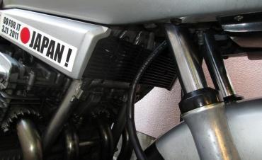 オイルクーラー・ダミーダクト GSX750S刀