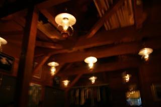 ランプの山小屋