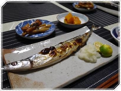 新もの秋刀魚