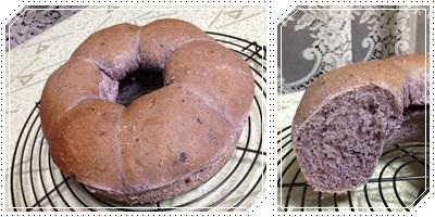 ブルーベリーパン3
