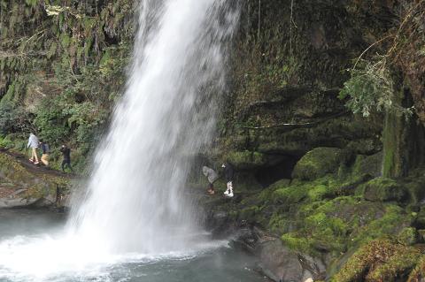 慈恩の滝 (8)