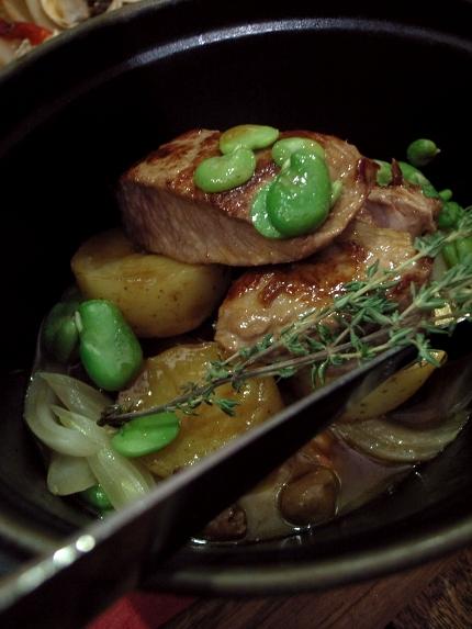 レ・プチ・プラ 牛肉