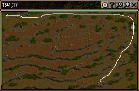 ソゴム三脈赤山登山路1