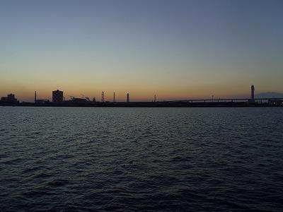 海芝浦駅 2014年 日の出