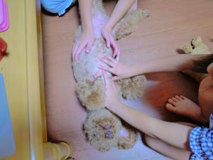 4つのお手手