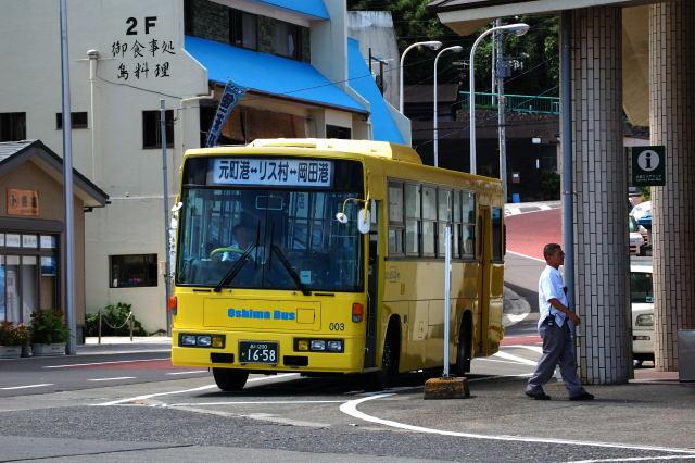 大島バス・日産ディーゼル7E