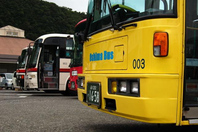 大島バス並び