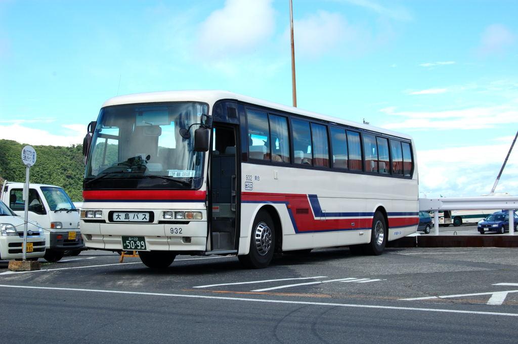 大島バス・ニューエアロ