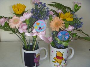 お花をいけよう