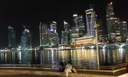 シンガポールの夜