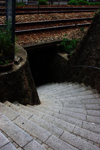 尾道坂道地下通路