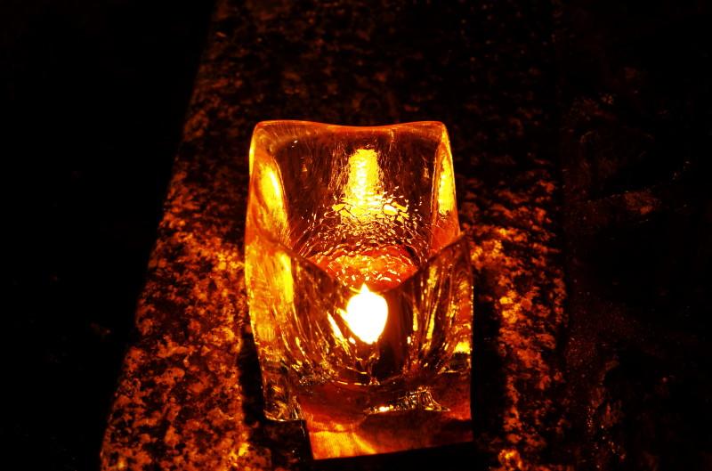 氷室神社 献灯