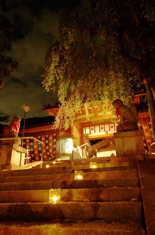 氷室神社 狛犬
