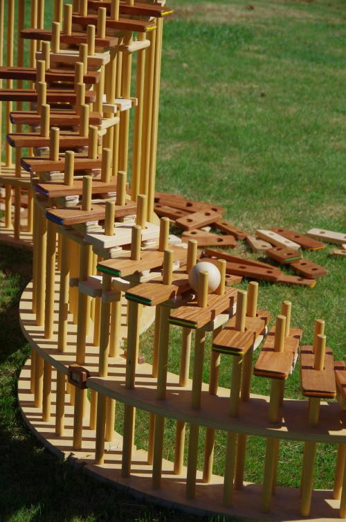 うまみ つちやさんの木琴階段
