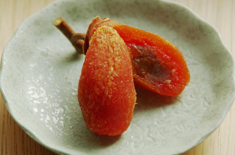 郷愁の柿3