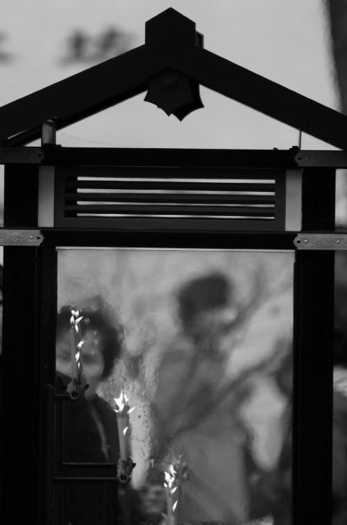 大安寺 蝋燭の揺らぎ