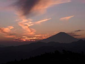 富士山 クリックで拡大