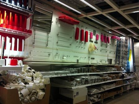 IKEAモミの木を買いに201312