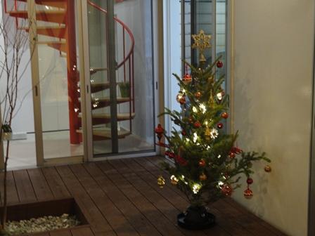クリスマスツリーのデコレーション2013 2