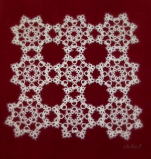 2011.11 文化祭 ドイリー(タティングレース)1 2011-11-13 16-23-45.11 文化祭 002