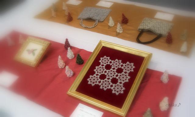 2011.11 文化祭 ドイリー(タティングレース)2 2011-11-13 16-22-56.11 文化祭 001