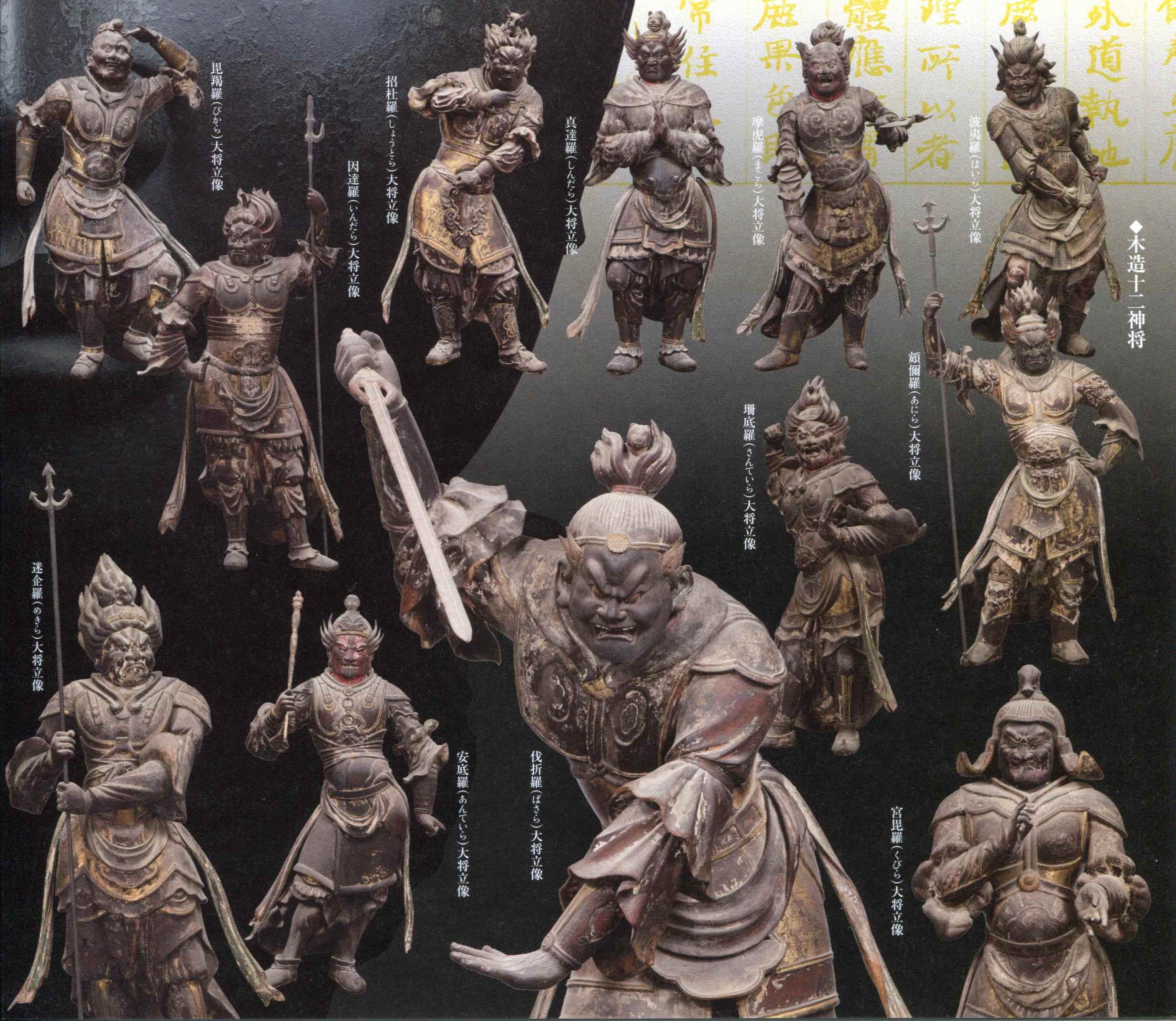 十二…神将 : 国宝:興福寺のオリ...