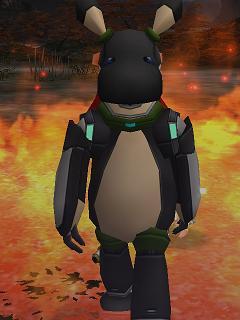 炎の中のフガ太郎