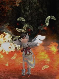 炎の中の戦姫