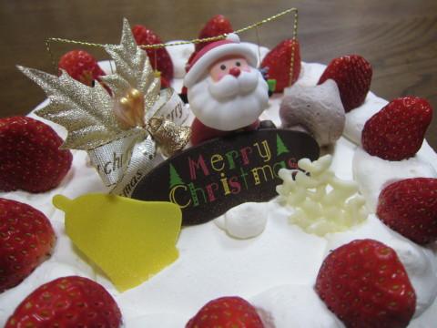 h25,12クリスマスケーキ