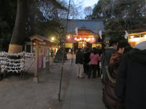h26,1氷川神社参拝