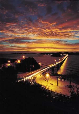 角島大橋1ブログ