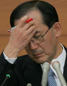 白川日銀総裁