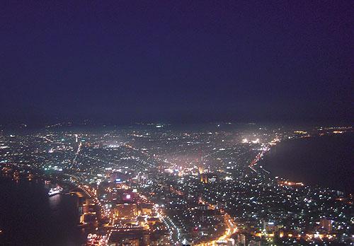 函館の夜景②