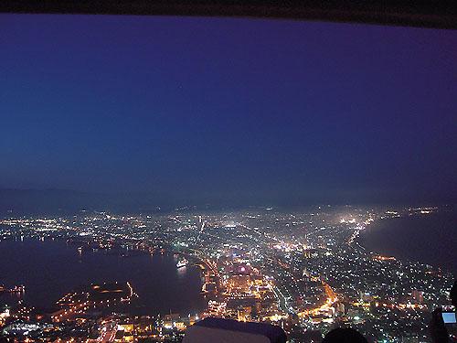 函館の夜景①