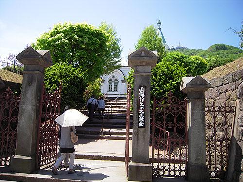 函館ハリスト正教会門