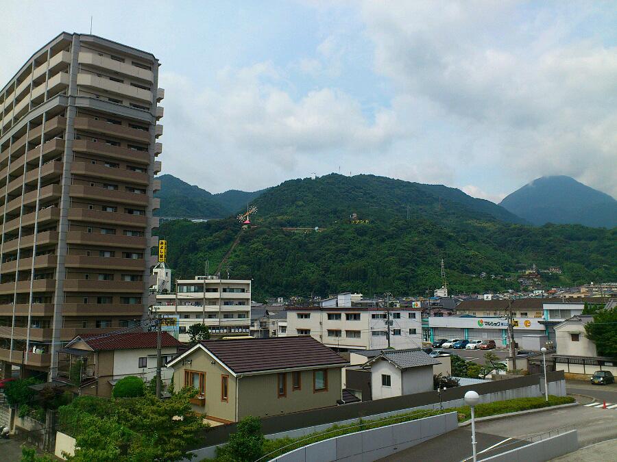 べっぷアリーナからの眺め@大分県別府市