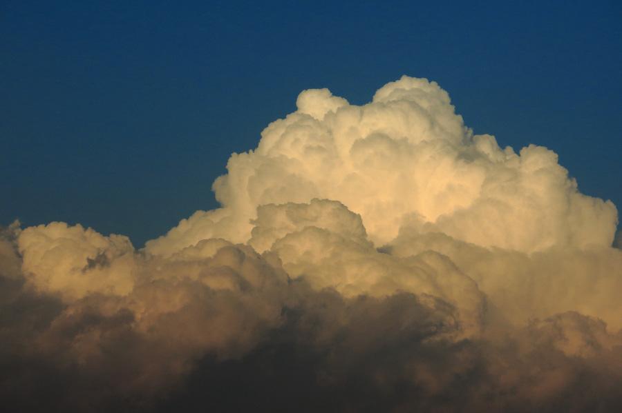 秋の積乱雲@リサイクルセンター周辺