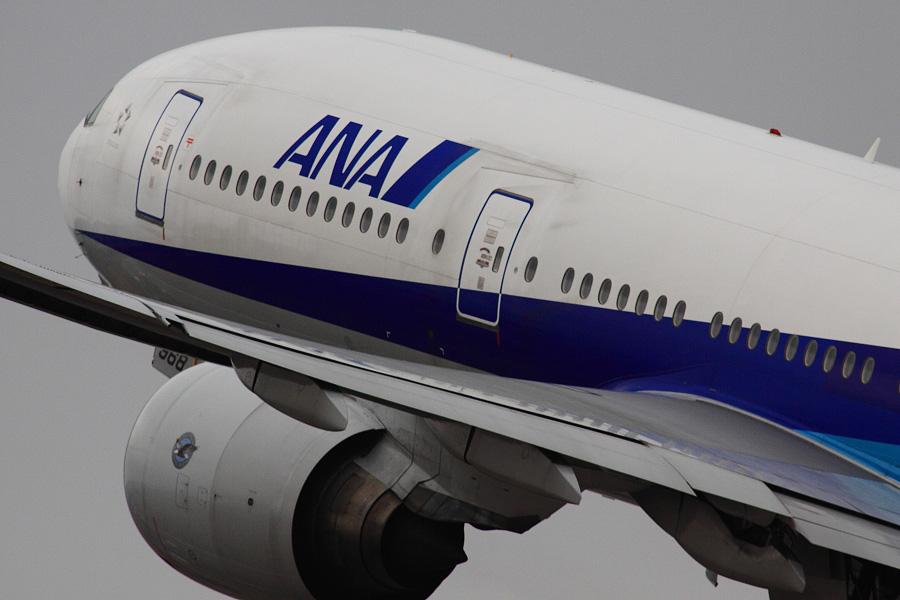 ANA B777-281 / ANA24 (JA8968)@伊丹スカイパーク