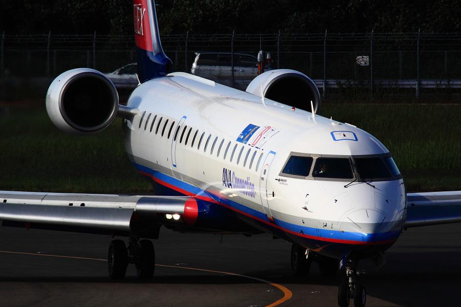 IBX CRJ-702 / IBX50 (JA07RJ)@下河原緑地展望デッキ