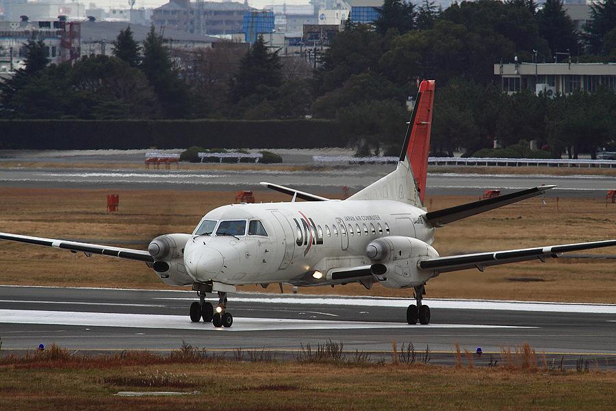 JAC SAAB-340B / JAC2322 (JA8888)@下河原緑地展望デッキ